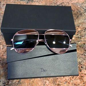 DIOR SPLIT Rose Gold Edition Sunglasses!